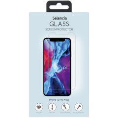 Selencia Gehard Glas Screenprotector iPhone 12 Pro Max