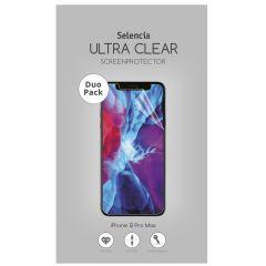 Selencia Duo Pack Ultra Clear Screenprotector iPhone 12 Pro Max