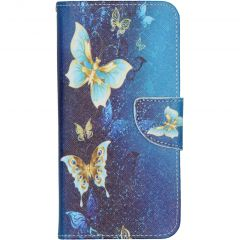 Design Softcase Booktype Samsung Galaxy A10