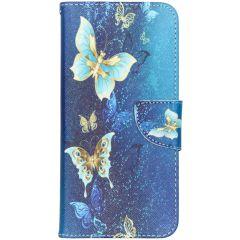 Design Softcase Booktype Samsung Galaxy A70