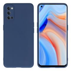 iMoshion Color Backcover Oppo Reno4 Pro 5G - Donkerblauw