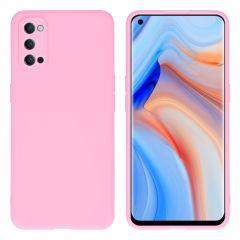 iMoshion Color Backcover Oppo Reno4 Pro 5G - Roze