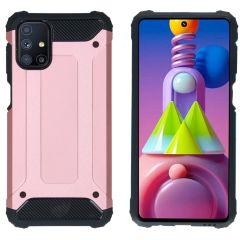 iMoshion Rugged Xtreme Backcover Samsung Galaxy M51 - Rosé Goud