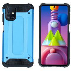 iMoshion Rugged Xtreme Backcover Samsung Galaxy M51 - Lichtblauw