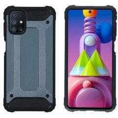 iMoshion Rugged Xtreme Backcover Samsung Galaxy M51 - Donkerblauw