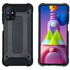 iMoshion Rugged Xtreme Backcover Samsung Galaxy M51 - Zwart