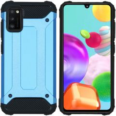 iMoshion Rugged Xtreme Backcover Samsung Galaxy A41 - Lichtblauw
