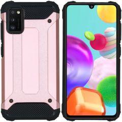 iMoshion Rugged Xtreme Backcover Samsung Galaxy A41 - Rosé Goud