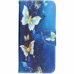 Design Softcase Booktype Samsung Galaxy J6 Plus