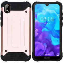 iMoshion Rugged Xtreme Backcover Huawei Y5 (2019) - Rosé Goud