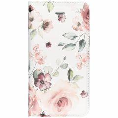 Design Softcase Booktype iPhone SE / 5 / 5s