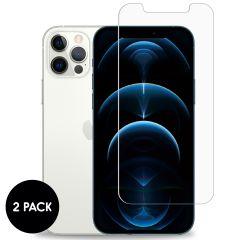 iMoshion Screenprotector Gehard Glas 2 pack iPhone 12 (Pro)