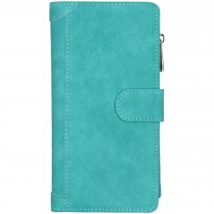 Luxe Portemonnee Samsung Galaxy S20 Plus - Turquoise