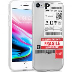 iMoshion Design hoesje iPhone SE (2020) / 8 / 7 / 6(s) - Label