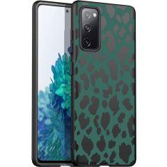 iMoshion Design hoesje Galaxy S20 FE - Luipaard - Groen / Zwart