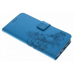 Klavertje Bloemen Booktype Samsung Galaxy S9 Plus