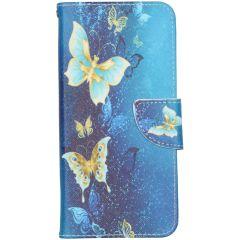 Design Softcase Booktype Samsung Galaxy Note 20 - Vlinders