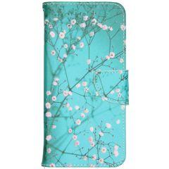 Design Softcase Booktype Samsung Galaxy Note 20 - Bloesem