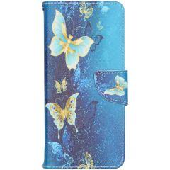 Design Softcase Booktype Samsung Galaxy Note 20 Ultra