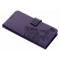 Klavertje Bloemen Booktype Samsung Galaxy J6 Plus