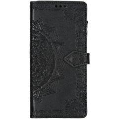 Mandala Booktype Samsung Galaxy A71 - Zwart