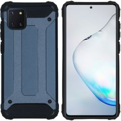 iMoshion Rugged Xtreme Backcover Samsung Galaxy Note 10 Lite - Blauw
