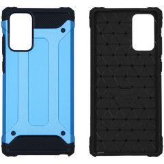 iMoshion Rugged Xtreme Backcover Samsung Galaxy Note 20 - Lichtblauw