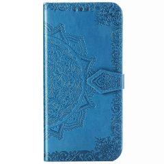 Mandala Booktype Samsung Galaxy Note 20 - Turquoise