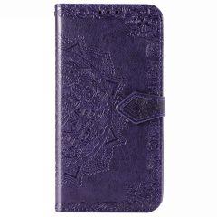 Mandala Booktype Samsung Galaxy Note 20 - Paars