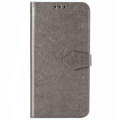 Mandala Booktype Samsung Galaxy Note 20 - Grijs