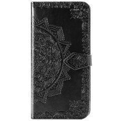 Mandala Booktype Samsung Galaxy Note 20 - Zwart
