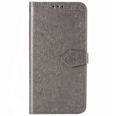 Mandala Booktype Samsung Galaxy Note 20 Ultra - Grijs