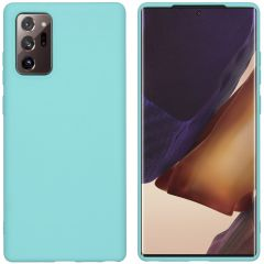 iMoshion Color Backcover Samsung Galaxy Note 20 - Mintgroen