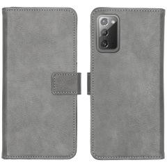 iMoshion Luxe Booktype Samsung Galaxy Note 20 - Grijs