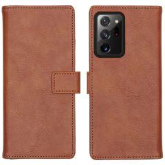 iMoshion Luxe Booktype Samsung Galaxy Note 20 Ultra - Bruin