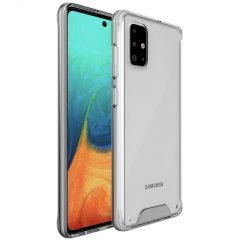 Accezz Xtreme Impact Backcover Samsung Galaxy A71 - Transparant
