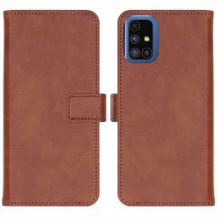 iMoshion Luxe Booktype Samsung Galaxy M51 - Bruin