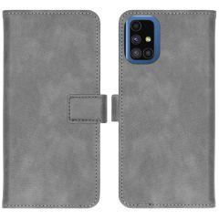 iMoshion Luxe Booktype Samsung Galaxy M51 - Grijs