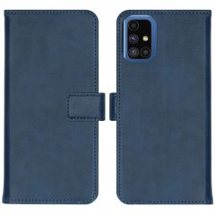iMoshion Luxe Booktype Samsung Galaxy M51 - Donkerblauw