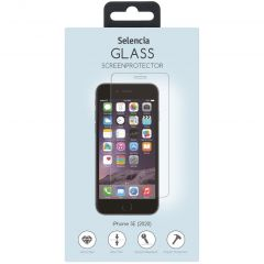 Selencia Gehard Glas Screenprotector iPhone SE (2020)