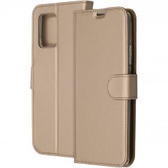 Accezz Wallet Softcase Booktype Samsung Galaxy S10 Lite - Goud