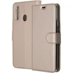 Accezz Wallet Softcase Booktype Samsung Galaxy A20s - Goud