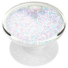 PopSockets Luxe PopGrip - Tidepool Halo White