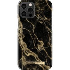 iDeal of Sweden Fashion Backcover iPhone 12 Pro Max - Golden Smoke Marble