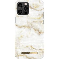 iDeal of Sweden Fashion Backcover iPhone 12 Pro Max - Golden Pearl Marble