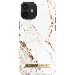 iDeal of Sweden Fashion Backcover iPhone 12 Mini - Carrara Gold