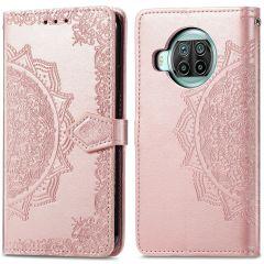 iMoshion Mandala Booktype Xiaomi Mi 10T Lite - Rosé Goud