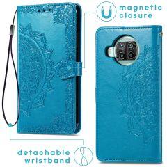 iMoshion Mandala Booktype Xiaomi Mi 10T Lite - Turquoise