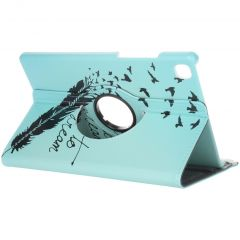 360° Draaibare Design Bookcase Galaxy Tab A7