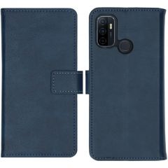 iMoshion Luxe Booktype Oppo A53 / Oppo A53s - Donkerblauw